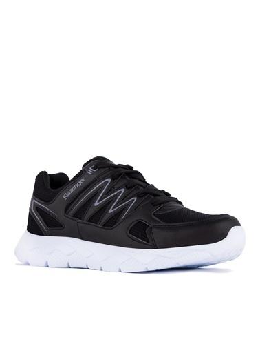 Slazenger Slazenger KRONOS Koşu & Yürüyüş Erkek Ayakkabı    Siyah